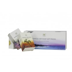 Y-NOT NATURAL Omega 369 Gift Soap Packs - 6 assorted soaps