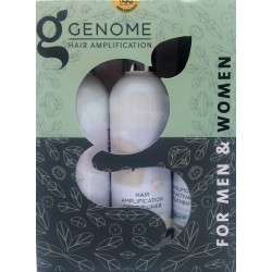 Genome® Pack (Shampoo 250ml, Conditioner 250ml & Scalp Activating Treatment 200ml)