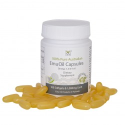 Pharmaceutical Grade Emu Oil Capsules