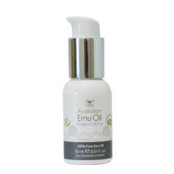 Y-NOT NATURAL Omega 369 Oil, 60ml - (100% Pure and Natural Australian Emu Oil)