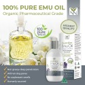 Y-NOT NATURAL 100% Pure and Natural Australian Emu Oil infused Lavender